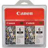 Canon BCI-6BK Black Ink Twin Pack