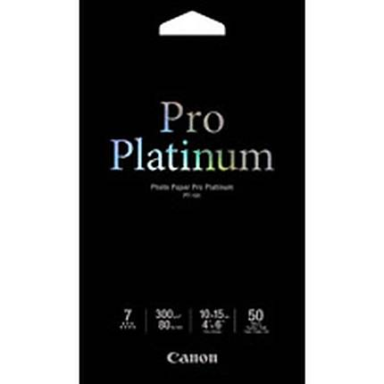 Canon 4X6 Pro Platinum Photo Paper (50 Sheets)