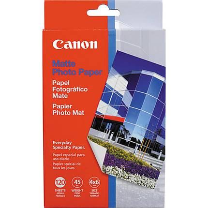 Canon 4X6 Matte Photo Paper (120 Sheets)