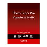 Canon 8.5 x 11 In. Photo Paper Pro Premium Matte Paper (50)