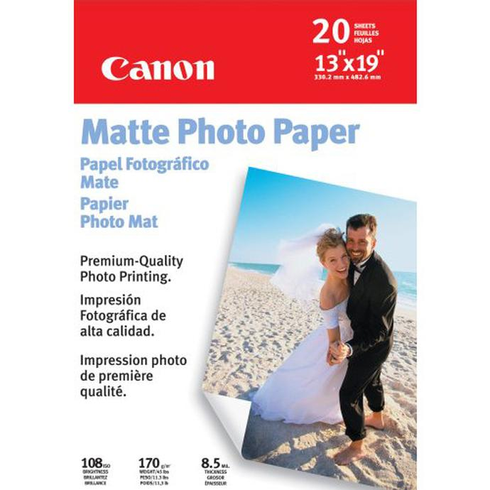 Canon Matte Photo Paper Crafts