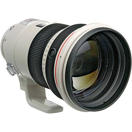 Canon EF 200mm f/2L IS USM Telephoto Lens - White