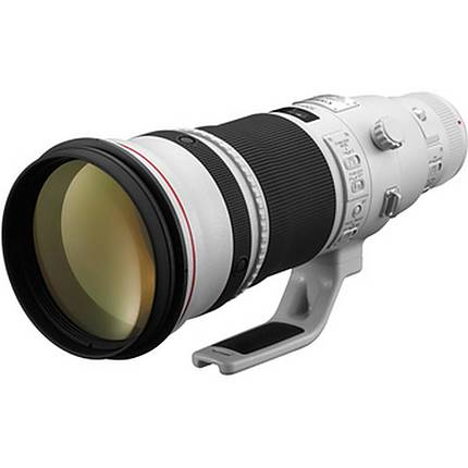 Canon EF 500mm f/4L IS II USM Super Telephoto Lens - White