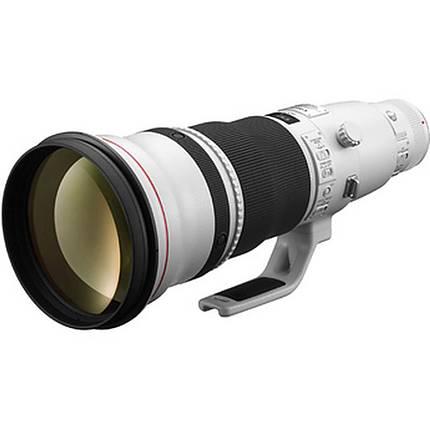 Canon EF 600mm f/4L IS II USM Super Telephoto Lens - White