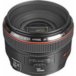 Canon EF 50mm f/1.2L USM Medium Telephoto Lens - Black