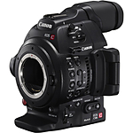 Canon EOS C100 Mark II Cinema EOS Camera with Dual Pixel CMOS AF (Body Only)