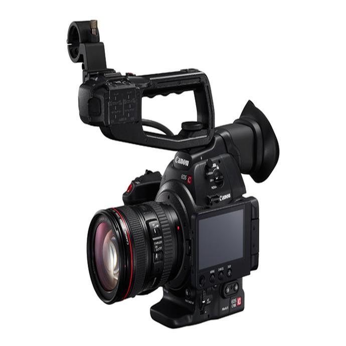 Canon EOS C100 Mark II Cinema EOS w/Dual Pixel CMOS AF (Body)