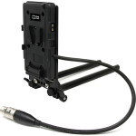 Core SWX Battery Cheeseplate  and  15mm LWS Rod Clamp with 4-Pin XLR - V-Mount