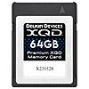 Delkin Devices Premium 64GB XQD Version 2.0 Memory Card 2933X