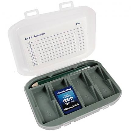 DLC SD Card Hard Case (Holds 8)