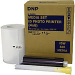 DNP IDW500 Media Set (4 x 6, 350 Prints)