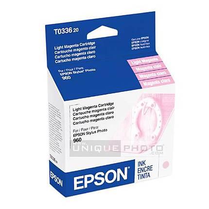 Epson T033620 Light Magenta Ink Cartridgeridge for Epson Stylus Photo 960 Pr