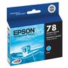 Epson 78 Cyan Ink Cartridgeridge for Stylus Photo Rx580, Rx595, Rx680 and R2