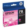 Epson 78 Magenta Ink Cartridgeridge for Stylus Photo Rx580, Rx595, Rx680 and
