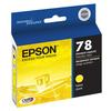 Epson 78 Yellow Ink Cartridgeridge for Stylus Photo Rx580, Rx595, Rx680 and