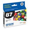 Epson T087 UltraChrome Hi-Gloss 2 Photo Black Ink for Stylus Photo R1900