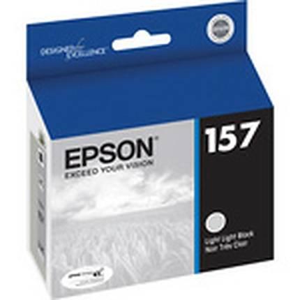 Epson 157 UltraChrome K3 Light Light Black Ink for Stylus Photo R3000