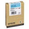 Epson T6055 UltraChrome K3 Light Cyan Ink 110ml for Stylus Pro 4880
