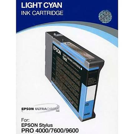 Epson T5435 UltraChrome Light Cyan Ink 110ml for Stylus Pro 4000, 7600, 9600