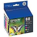 Epson 88 4-Color Ink Cartridge Pack