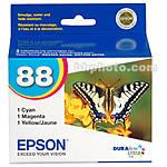 Epson 88 Multi-Pack Color DURABrite Ultra Ink Cartridges