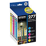 Epson 277 Claria Photo Hi-Definition Ink Cartridge Multi-Pack - 5 Color