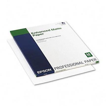 Epson 17x22 Enhanced Matte Paper - 50 Sheets