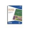 Epson 8.5x11 High Quality Inkjet Paper - 100 Sheets S041111