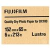 Fujifilm 6x213 DX100 Inkjet Paper Lustre for Frontier-S DX100 Printer