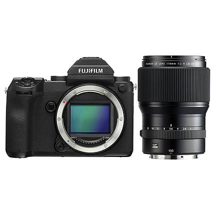 Fujifilm GFX 50S Medium Format Mirrorless Camera with GF 110mm Lens
