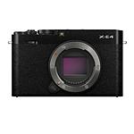 Fujifilm X-E4 Body with XF27mmF2.8 R WR Lens Kit - Black