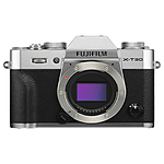Fujifilm X-T30 Mirrorless Digital Camera (Silver, Body Only)