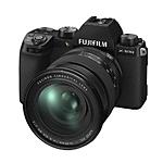 FUJIFILM X-S10 Body w/ XF16-80mm F4 R OIS WR Lens - Black