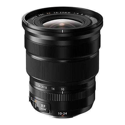 Fujifilm Fujinon OIS XF 10-24mm f/4 R Standard Lens - Black