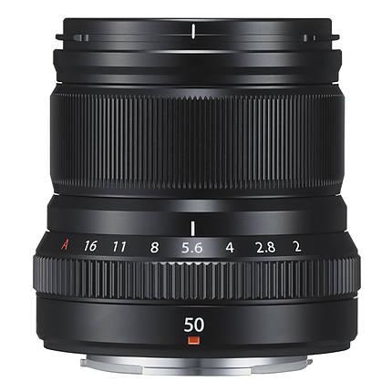 Fujifilm XF50mm F/2 R WR Lens (Black)