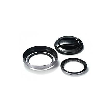 Fujifilm X30 Lens Hood and Filter Set (Silver)