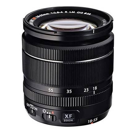 Fujifilm Fujinon XF 18-55mm f/2.8-4 R LM OIS Wide Angle Lens - Black