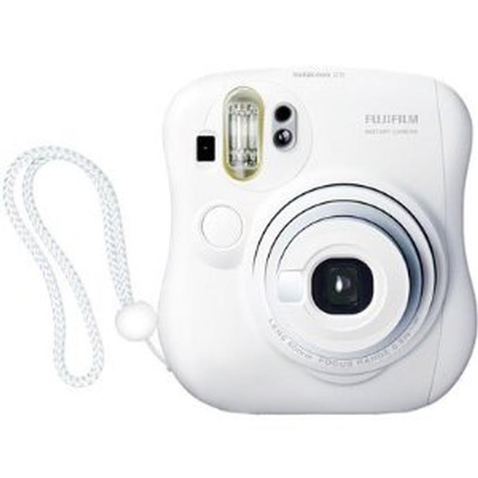 Fujifilm Instax Mini 25 Camera (White) uses Mini Film   FujiFilm ...