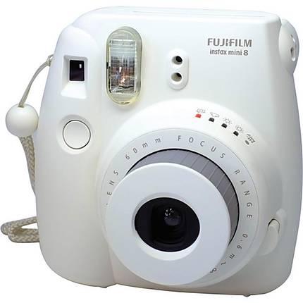 Fujifilm Instax Mini 8 Instant Film Camera - White   FujiFilm ...