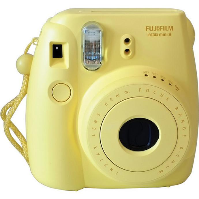 Fujifilm Instax Mini 8 Instant Film Camera Yellow