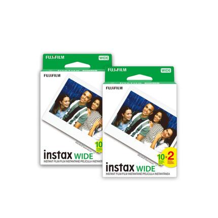 Fujifilm Instax Instant Wide Film Four Pack (40 exposures)