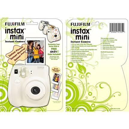 Fuji Instax Mini 7S Skin-It Promo Blister Pack(with 1 pack film/4 AA batt)