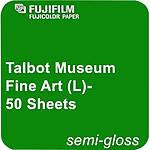 Fujifilm Talbot Museum Semi-Gloss Inkjet Paper 300 50 Sheets - 8.5in.x11in.