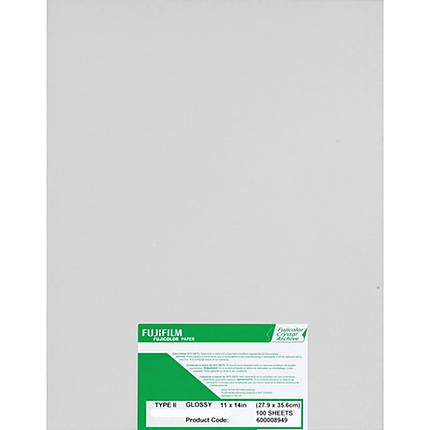 Fujifilm Paper Crystal Archive Type Two 8x610 Lustre