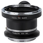 Fotodiox Pro Lens Mount Double Adapter, Bronica SQ Mount and to Fuji GFX