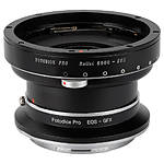 Fotodiox Pro Lens Mount Double Adapter, Rollei 6000 (Rolleiflex) to GFX
