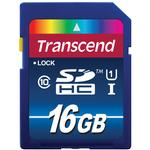 Transcend 16GB 400x UHS-1 Class 10 SDHC Memory Card Transcend