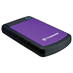 Transcend 1TB StoreJet 25H3 External Hard Drive (Purple)
