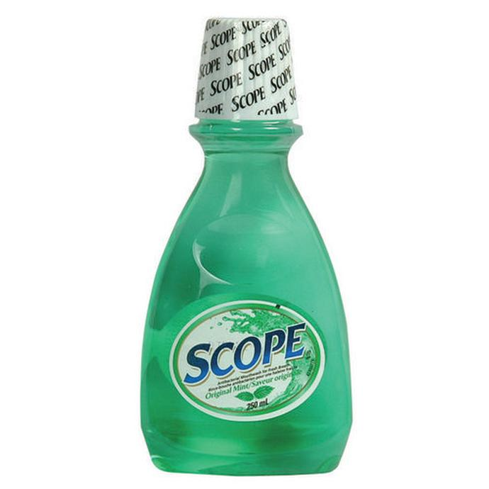 Scope mouthwash 250ml original green mint oral hygiene health beauty at unique photo - Unusual uses for mouthwash ...