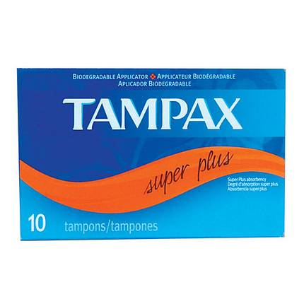 Tampax Tampons Super Plus 10pack